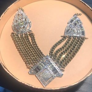 Chloe + Isabel Art Deco style statement necklace